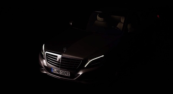 One last teaser for the new Mercedes S-Class