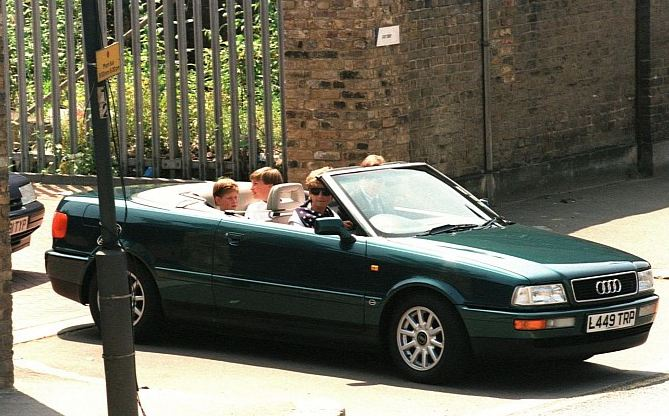 Princess Diana's Audi Quattro auctioned off