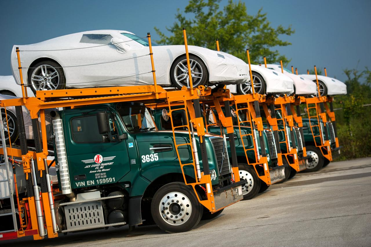 2014 Chevrolet Corvette deliveries