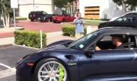 Jerry Seinfeld Riding His Porsche 918 Spyder