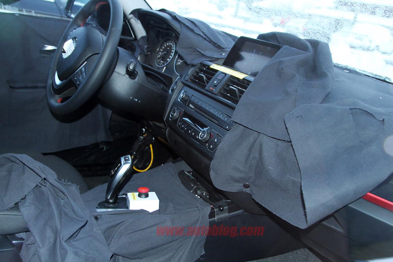 2012 BMW 1 Series spyshot