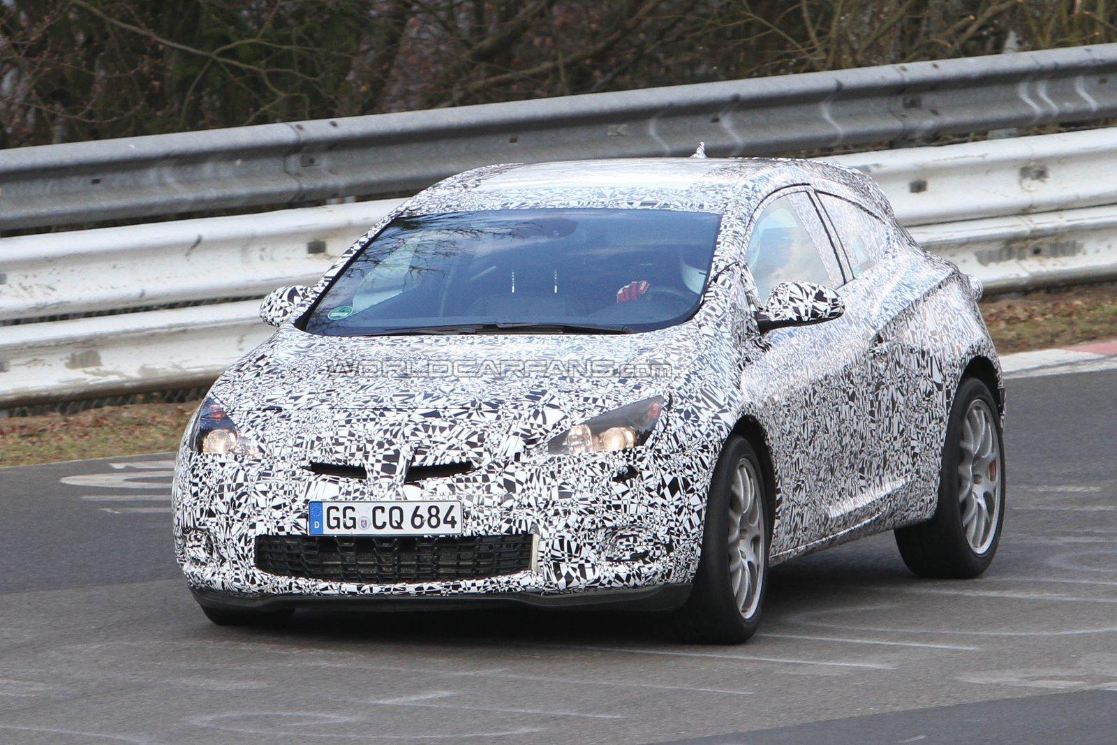 2012 Opel Astra OPC Spyshot