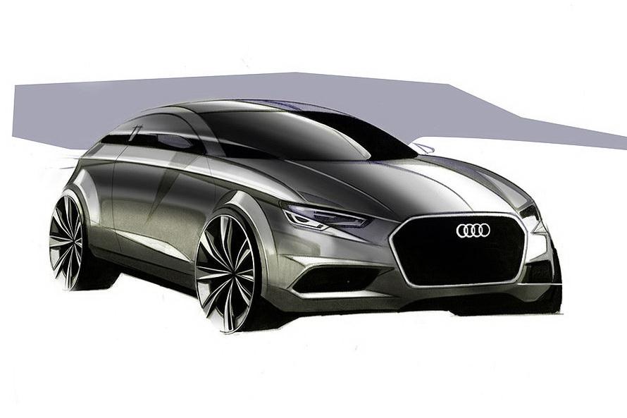 2012 Audi A3 sketch