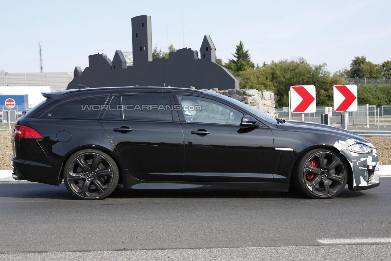 Jaguar XFR-S Sportbrake spied