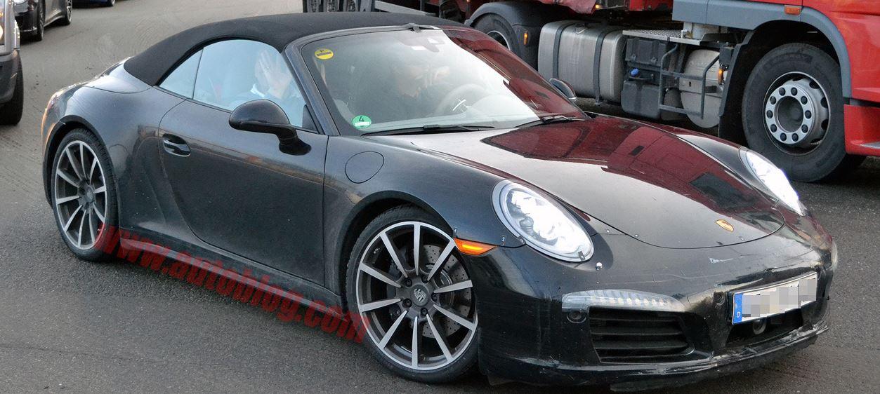 Porsche 911 Cabriolet Facelift