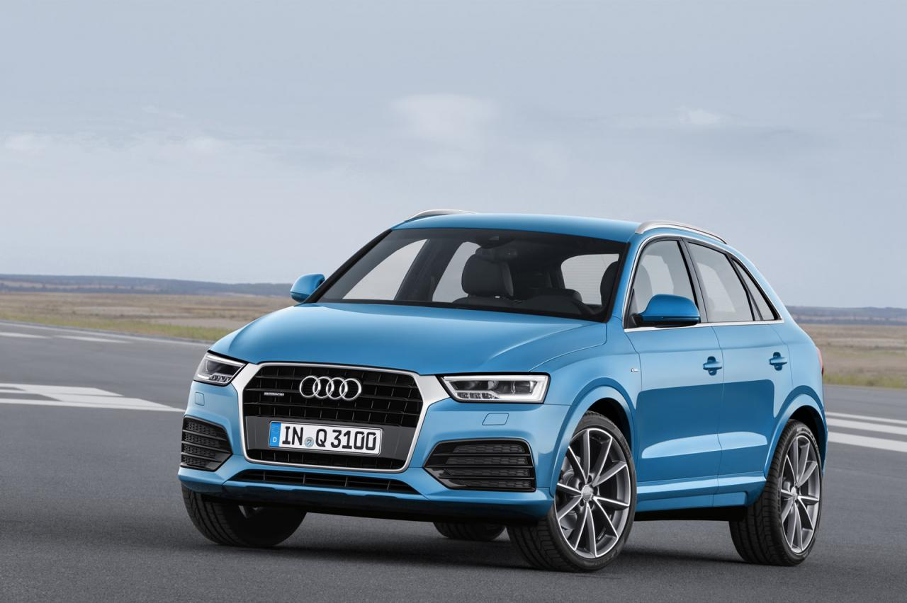 2016 Audi Q3 facelift